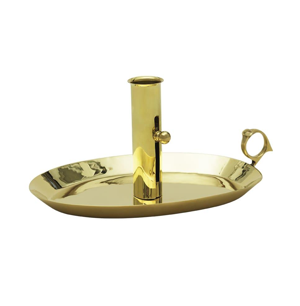 Mässing - Kammarljusstake Oval Image