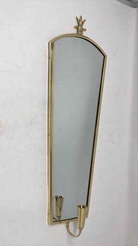 Mässing - Spegellampett Marie 36 cm Image
