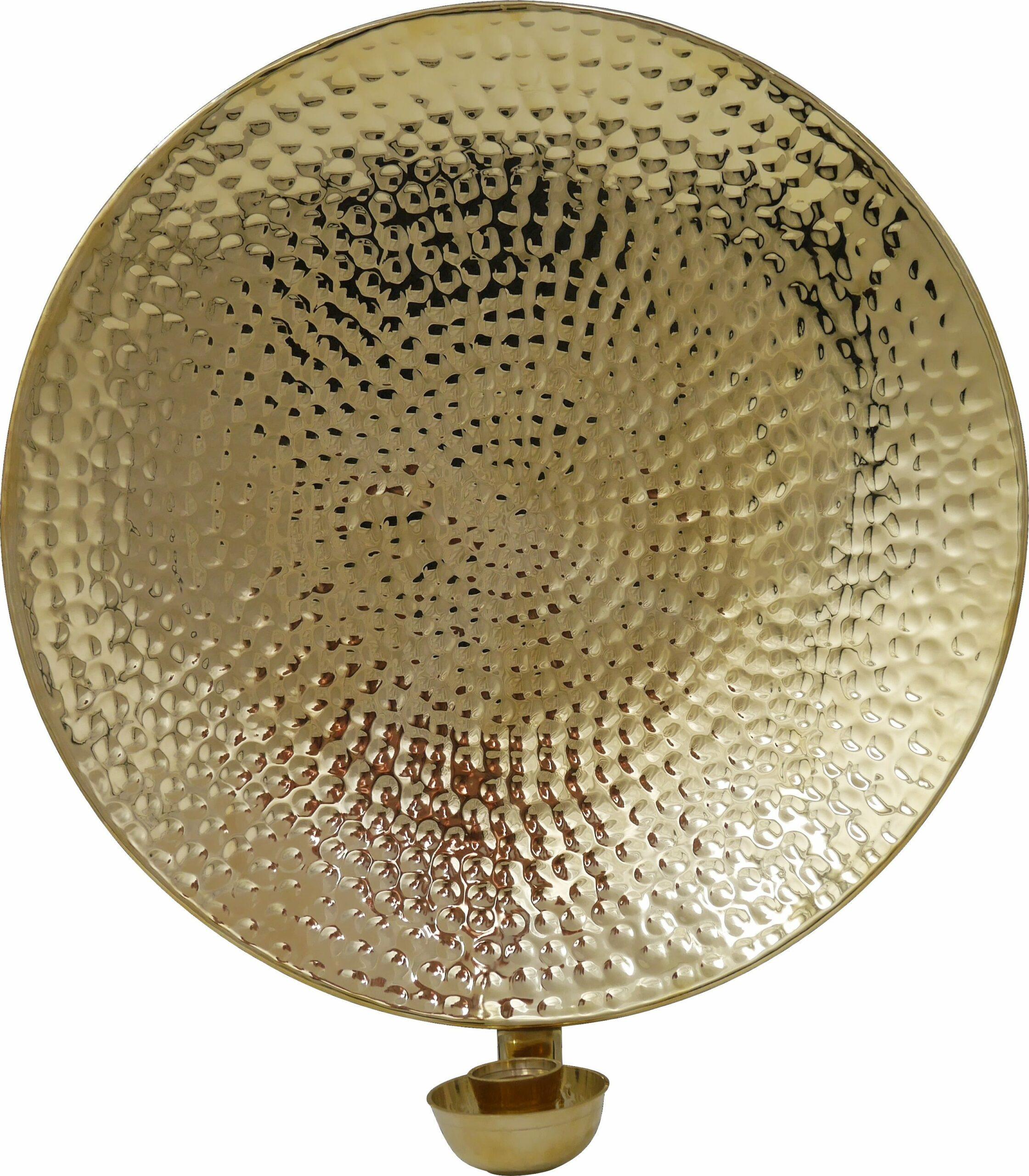 Mässing - Lampett Rund 23 cm, SLUT åter i lager feb 2021 Image