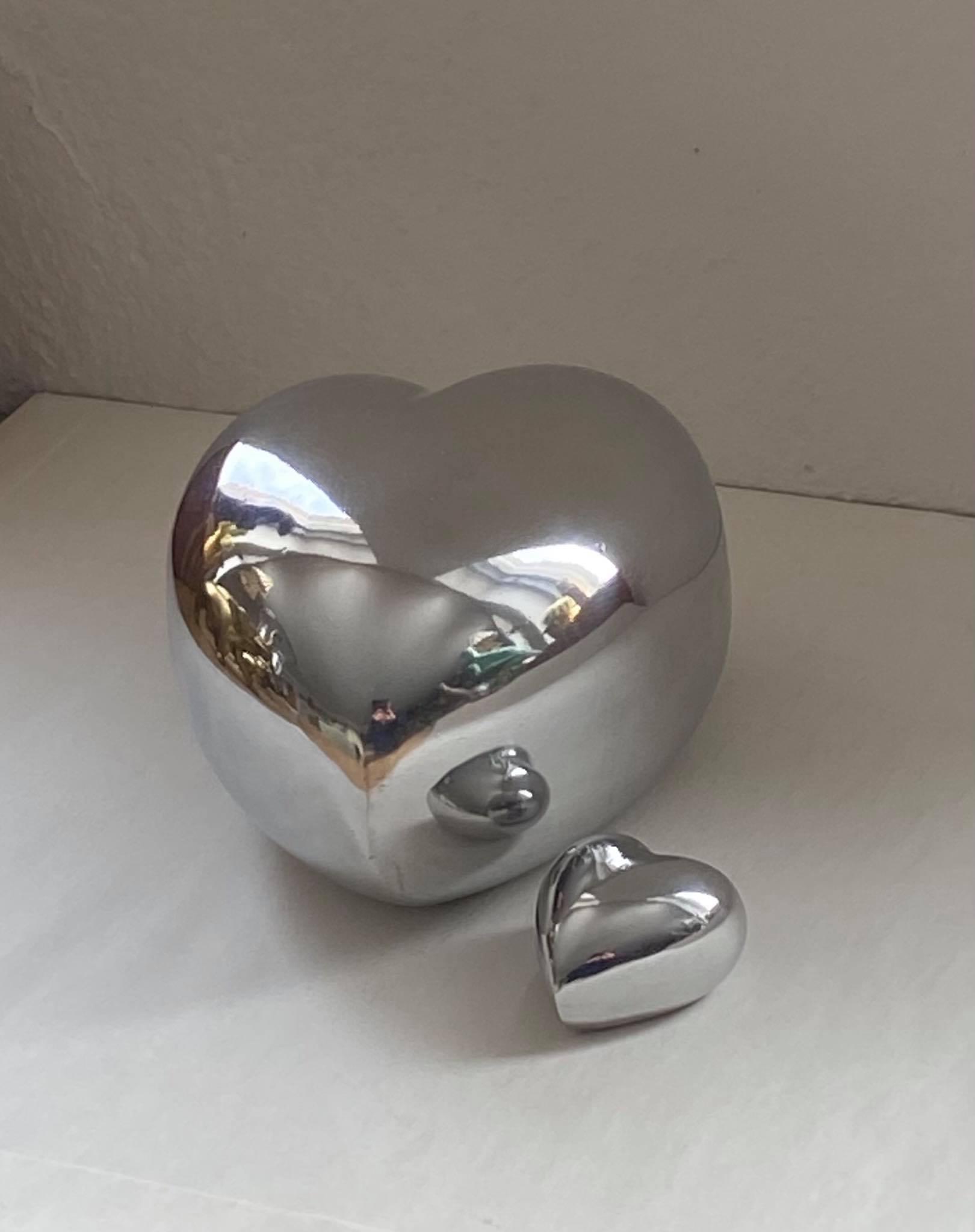 Aluminium - Hjärta Mini Image
