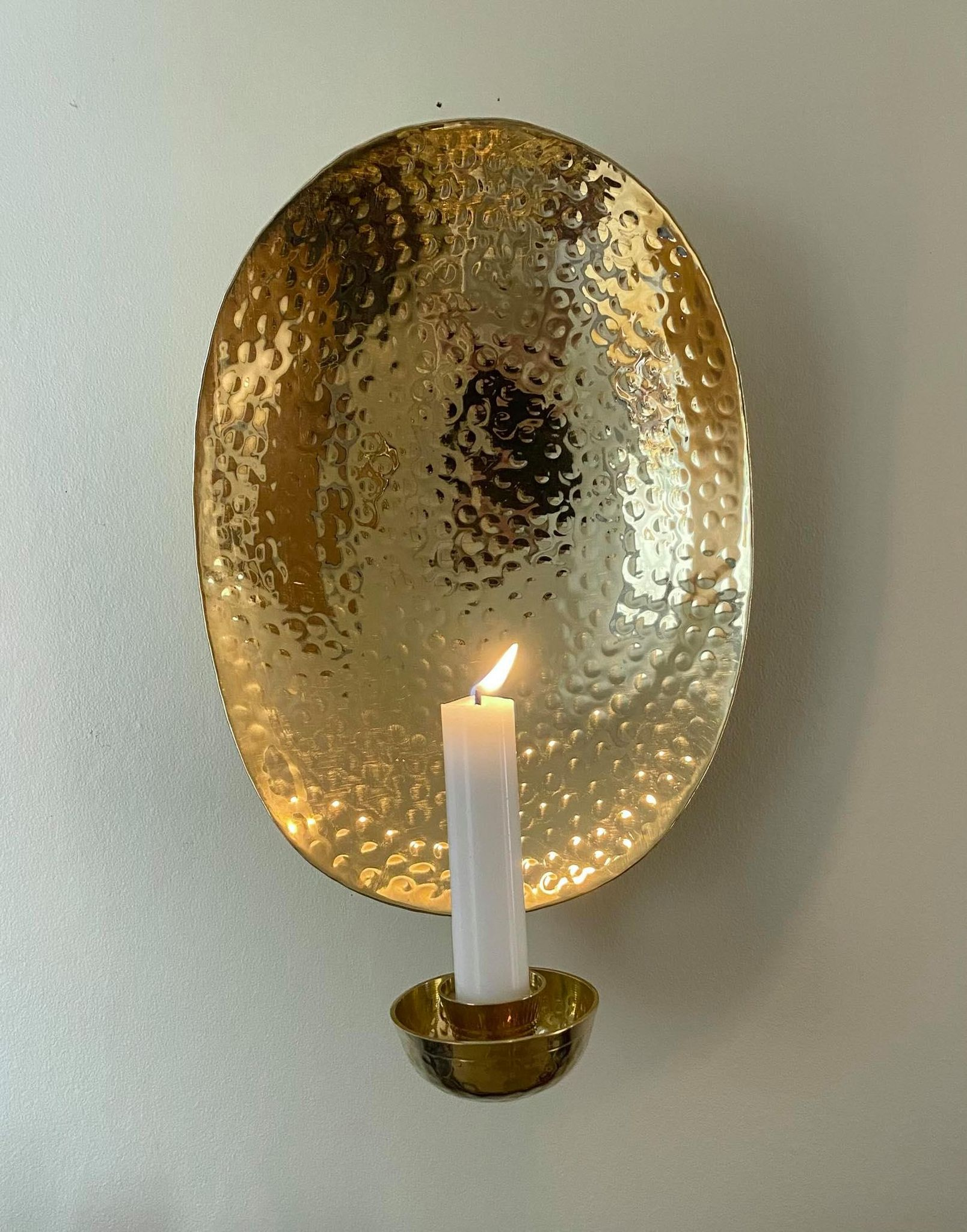 Mässing - Lampett Oval Image